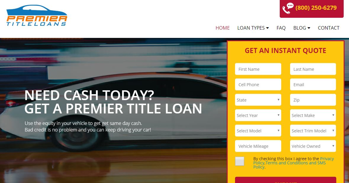 premier title loans biggest hurdle to selling online