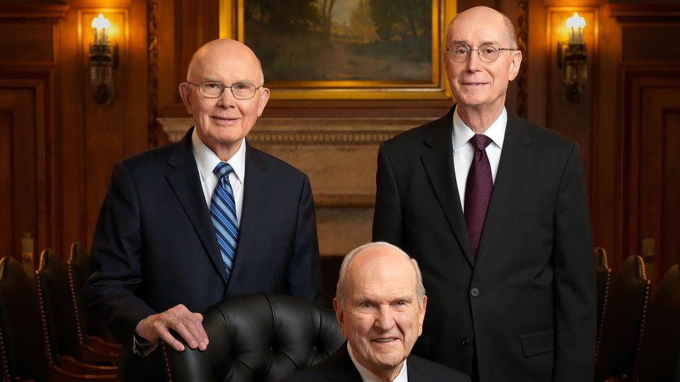 First Presidency of The Church of Jesus Christ of Latter Day Saints - August 2021